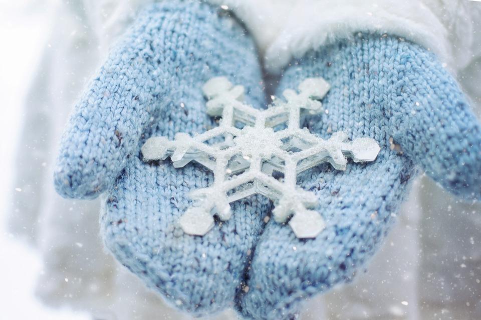Warme Handschuhe für extreme Kälte