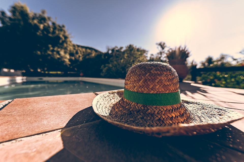Sonnenhut mit Nackenschutz für Erwachsene