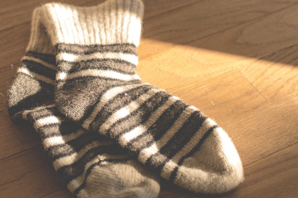 Alpaka Socken für warme Füße