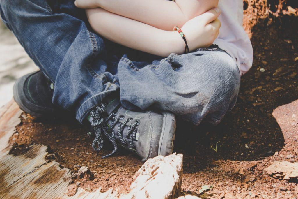Kinderschuhe: Hoher Spann für mehr Tragekomfort