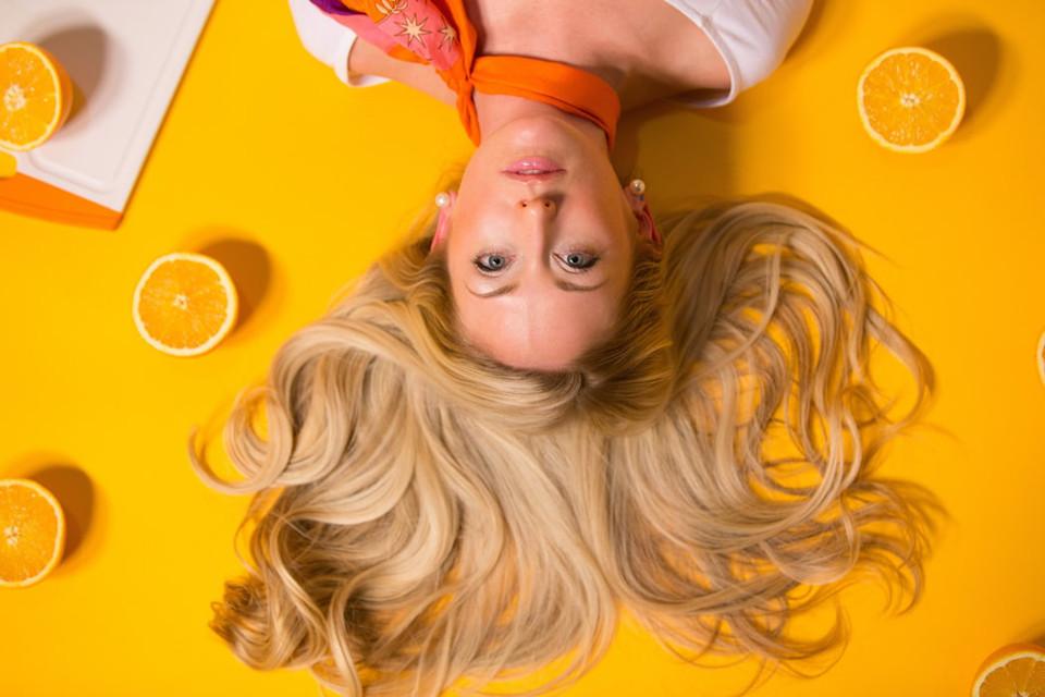 Balea braun shampoo haare dunkler