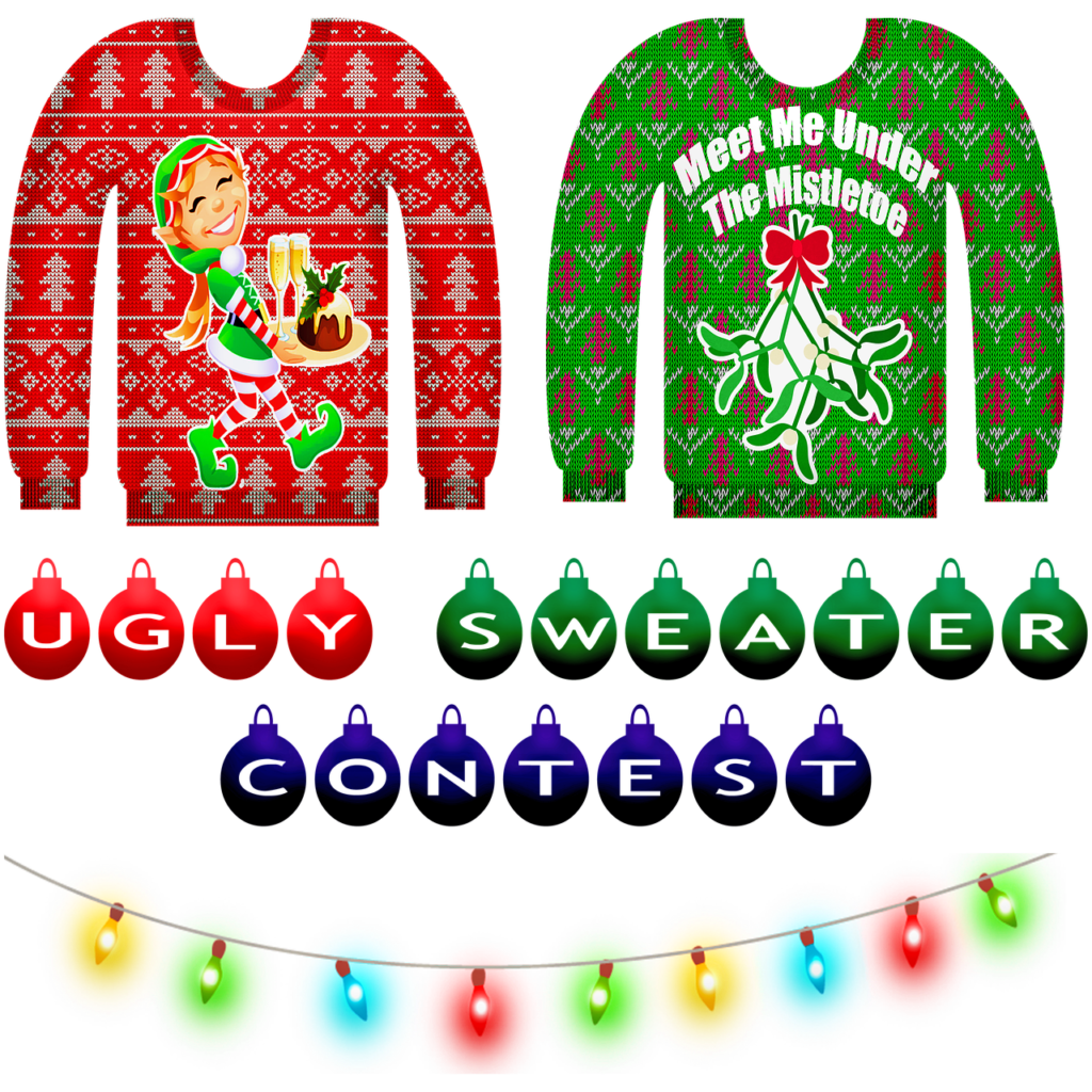 Hässlicher Weihnachtspullover –Ugly Christmas Sweater als trendy Outfit
