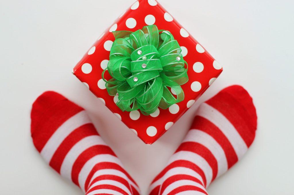 Schöne Weihnachtssocken – Kuscheliger Weihnachtstrend